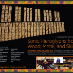 Sonic Hieroglyphs From Wood, Metal and Skin