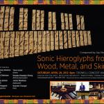 Sonic Hieroglyphs Elmore final flyer