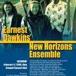 Earnest Dawkins New Horizons Ensemble