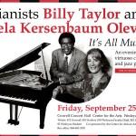 Billy Taylor and Estela Kersenbaum Olevsky