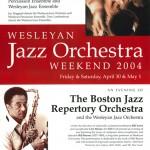 Wesleyan Jazz Orchestra Weekend '04