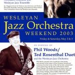 Wesleyan Jazz Orchestra Weekend '03