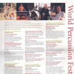 World Percussion Festival '00